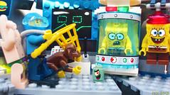 Day 317 (chrisofpie) Tags: chris pie monkey lego doug legos hero heroes minifig roger minifigure bluehat legohero chrisofpie rogeranddoug 365legos dougthechimp