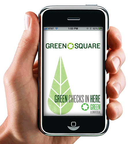 Green Square - Splash Screen