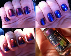 Ludurana: Emocionante (ana-nails) Tags: nails manicure nailpolish unhas varnish esmalte emocionante multichrome ludurana