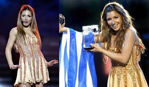 Helena Paparizou Eurovision Grecia