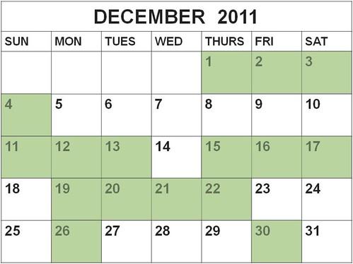Pepato calendar