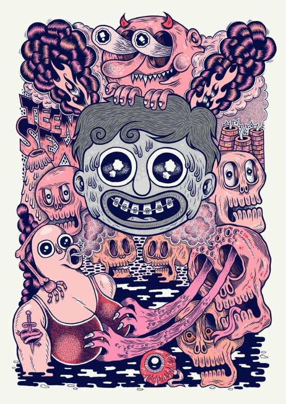 ilustraciones de duendes