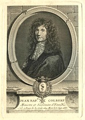 Jean Bap Colbert (Stifts- och landsbiblioteket i Skara) Tags: frankrike portrtt jeanbaptistecolbert statsmn