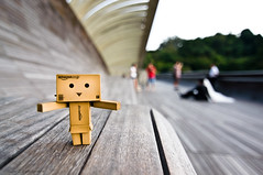 Danbo at Henderson Waves Bridge (st_tuper33) Tags: toys nikon singapore wideangle tokina uwa danbo d90 postnuptial danboard southernridges hendersonwaves tokina1116mmatxpro amazoncomjp sttuper