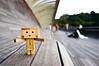 Danbo at Henderson Waves Bridge (st_tuper33) Tags: toys nikon singapore wideangle tokina uwa danbo d90 postnuptial danboard southernridges hendersonwaves tokina1116mmatxpro amazoncomjp sttuper