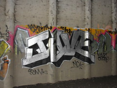 JYVE (Lurk Daily) Tags: graffiti bay nc south tew jyve snv