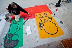 Groundbreak-7-3 (Pearce_Pics) Tags: streetart mural many sidewalkart abelincolnjr extraplace 4thartsblock fourthartsblock