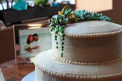 Succulent Cake (Alicia Policia aka The Small Cat Club) Tags: cake succulent weddingcake scratch gumpaste