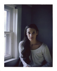 Brennan (guytheorphan) Tags: woman color film beauty polaroid fuji instant peelapart fp100c fujifp100c model360 polaroidautomaticland360 zeissfinder