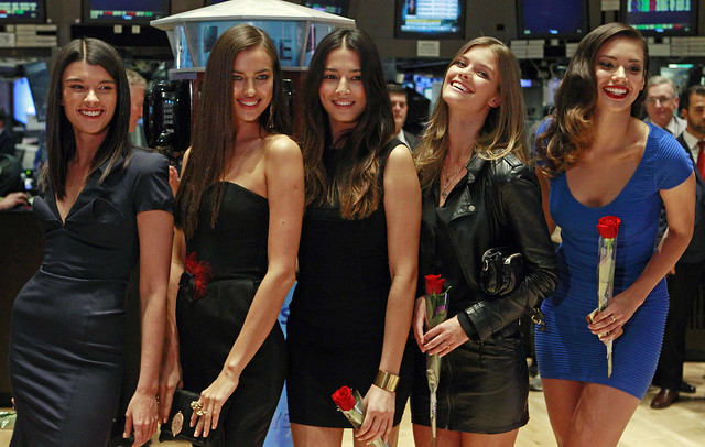 NYSE Sports Illustrated Models