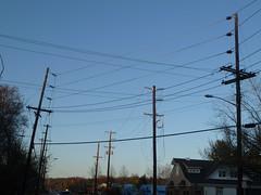 Move the lines! (en tee gee) Tags: new newyork longisland wires poles 13kv 23kv