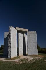 (ash™) Tags: ga georgia scary creepy stonehenge guidestones elberton