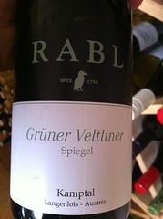 2009 Rabl Grüner Veltliner Spiegel