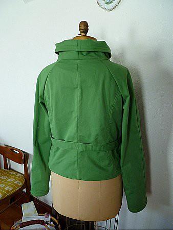 Back view--Upline Jacket