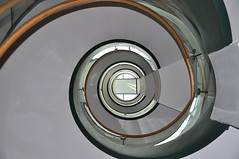 Science & Research Center Stairwell -:- 198 (buddhadog) Tags: spiral haiku stairwell stairway 600 curve curved bdw sweeper buddhadog f64 dimex top100list orientalland 4wins thepinnaclehof thepinnacleblog agcgiconchallengewinner f64g38r1win tphofweek125 pinnaclewinopenhouse 100mip g2haiku mm108 500vu