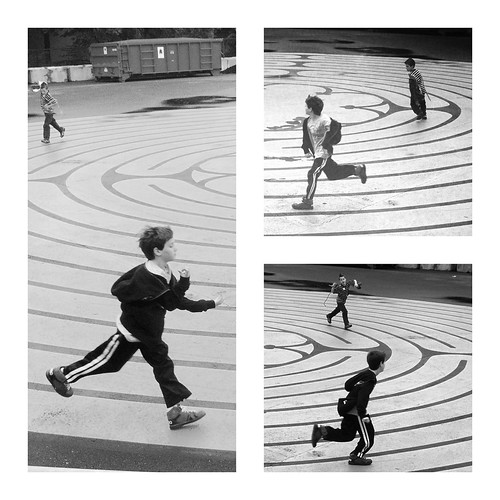 Running the labyrinth