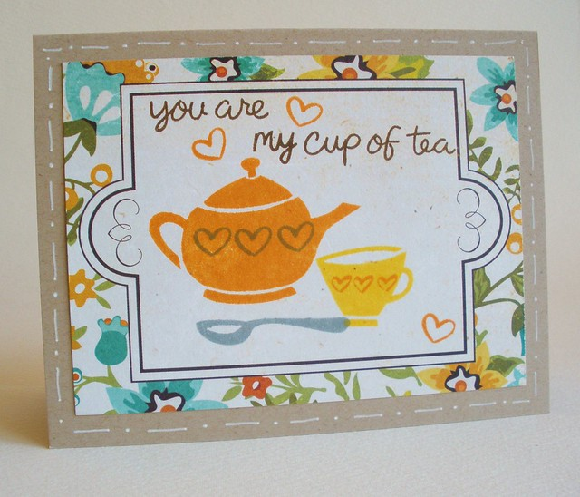 quick cup of tea card