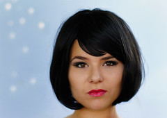 Another Coco ! (pfala) Tags: portrait black girl face hair attitude blackhair visage pfala paulfalardeau