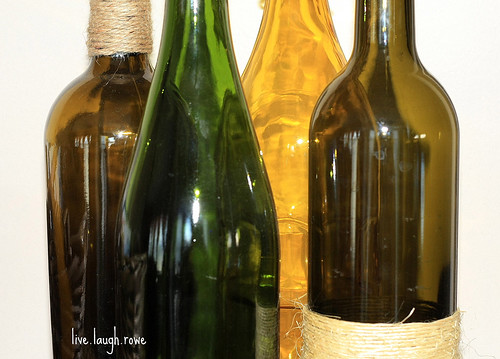 Twine and Wine Bottles 1