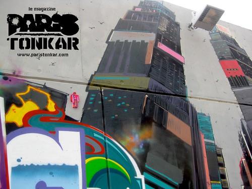 Collage de Tarek // Man at work #3/111 // Montluçon, 2011 by Pegasus & Co