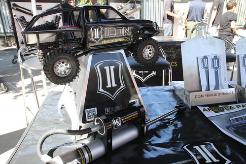 ICON Vehicle Dynamics / Axial SCX10 on display at Off Road EXPO 2011