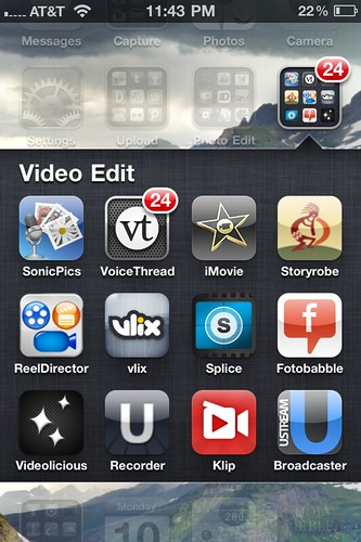 Video Editing Apps  (Oct 2011)
