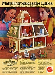 A World Where Drawers Really Open And Close (Wires In The Walls) Tags: toys dolls advertisement scanned 1981 1980s mattel littles playset dollhouse