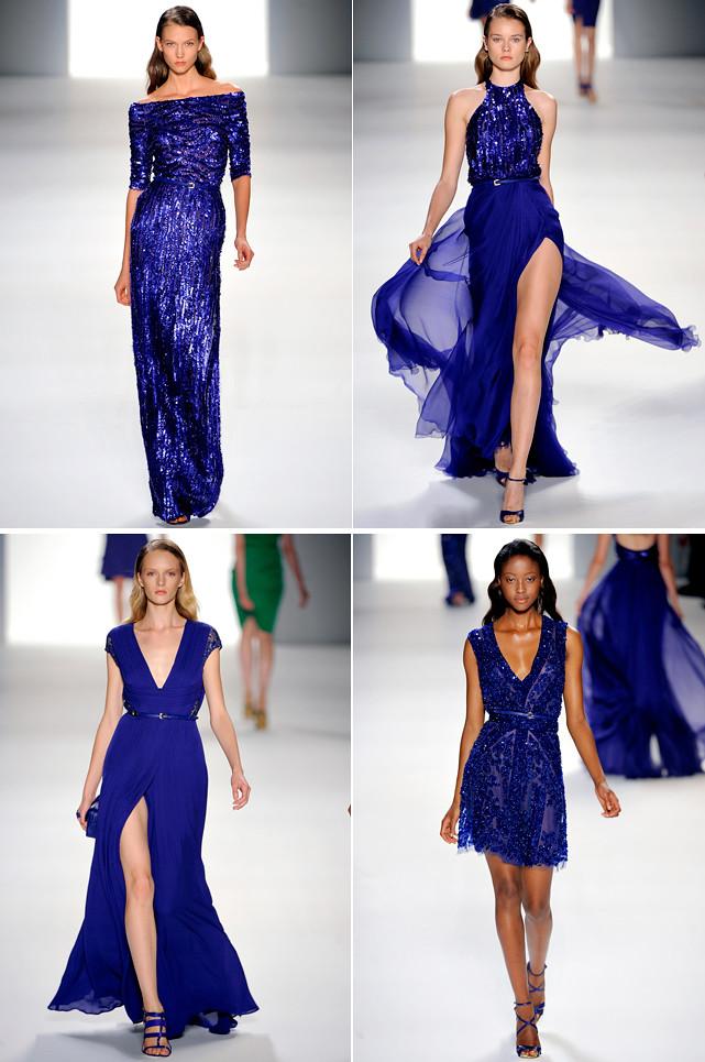 Ellie Saab SS 2012 blue