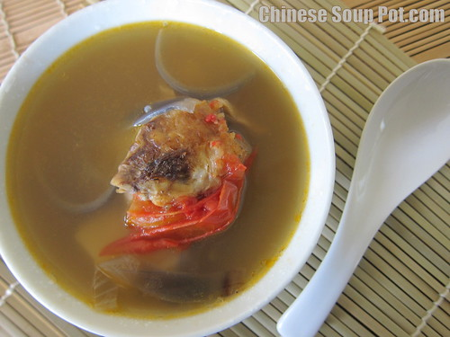 [photo-potato and tomato onion fish soup]