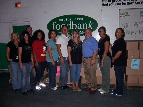 As the closing ceremony of the Feds Feed Families Food Drive, USDA was recognized for going above and beyond.  The department's employees exceeded their goal of 500,000 pounds of donations three-fold, bringing in the most donations in the large division category, as well as the most donations for the month of August.