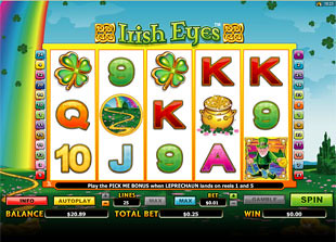 Irish Eyes slot game online review