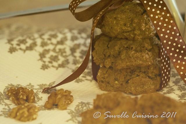 Scones integrais de aveia e nozes / Oatmeal and Nuts whole grain scones