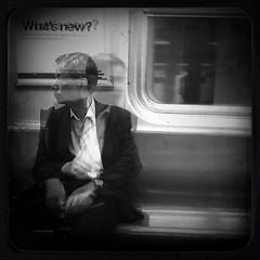 """What's New?"" (Sion Fullana) Tags: nyc people urban blackandwhite bw newyork blancoynegro subway square doubleexposure creative citylife streetshots streetphotography multipleexposure creation squareformat allrightsreserved newyorkers newyorklife iphone newyorksubway 500x500 urbanshots creativeshots urbannewyork mobilephotography iphone4 iphonephotography iphoneshots iphoneography iphoneographer sionfullana editedanduploadedoniphone hipstamatic throughthelensofaniphone reflectingoncreativity"