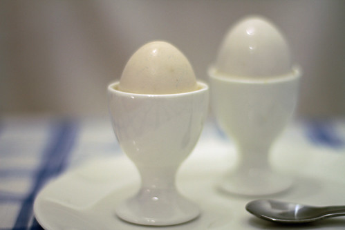 Plain White Eggcups