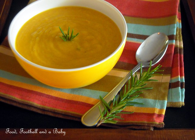 Squash and Garlic Soup 2