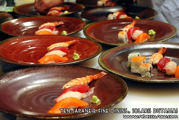 Ten Japanese Fine Dining, Solaris Dutamas-14