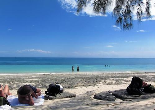 Stunning beach near Kizimbani