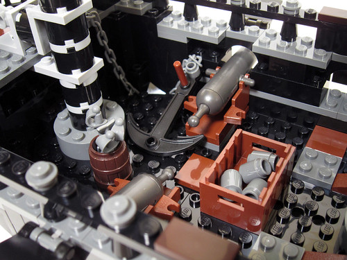 4184 Black Pearl Review - deck
