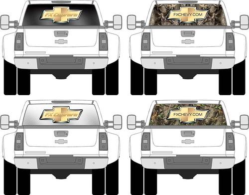 caprara chevy rear windows
