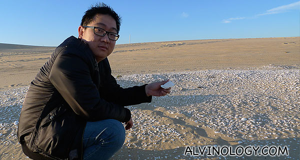 Me, by a large Midden