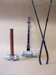 Smitty tools (monsterbrick) Tags: hammer lego tools blacksmith forge anvil steampunk moc greatinventions