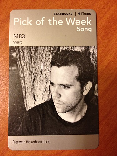 Starbucks iTunes Pick of the Week - M83 - Wait