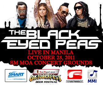 Black Eyed Peas LIVE in Manila on October 25 at SM MOA Concert Grounds - rectangle