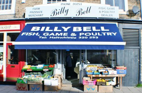 Colourful Shop Front at Haltwhistle