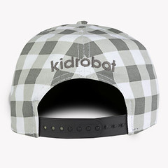 kidrobot robot head snapback hats