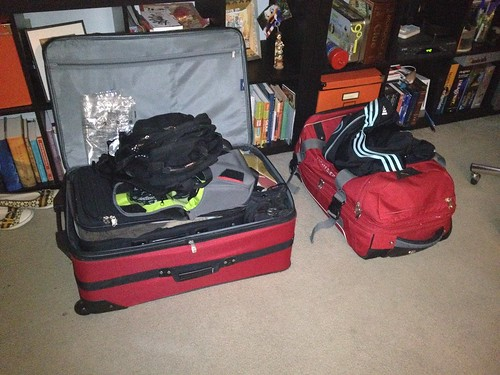 Almost packed.