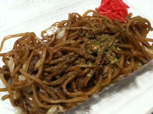 富士宮焼きそば (400円)