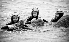 Jeju's Grandma Divers #4 [Explored #73 and Front Page] (DMac 5D Mark II) Tags: ocean camera travel grandma sea portrait bw favorite woman holiday art heritage tourism canon lens asian photography eos interestingness google interesting divers women friend scenery asia flickr artist photos mark top south sightseeing photojournalism diving korea images best fave explore most ii views getty seafood catch 5d southkorea popular nets jeju frontpage myfriend journalism reviews viewed naver googleimages stumbleupon daum imagesgooglecom fredmiranda 2011 explored haenyeo canoneos5dmarkii 5dmarkii 5dmark2 wwwfredmirandacom gettyimagesartist douglasmacdonald instagram jejuweekly