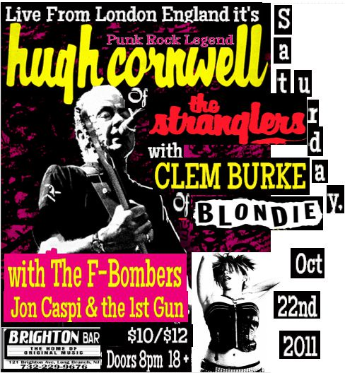20111022 Hugh Cornwell Brighton Bar