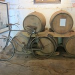 "Bike and Wine Barrels <a style=""margin-left:10px; font-size:0.8em;"" href=""http://www.flickr.com/photos/14315427@N00/6273967224/"" target=""_blank"">@flickr</a>"